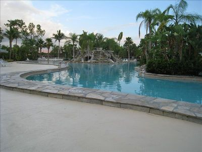 Largest heated pool (11,000 square foot) in Southwest Florida.