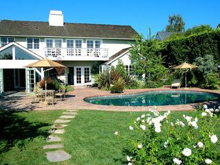 Beverly Hills cottage photo - Main house on the other side of the pool