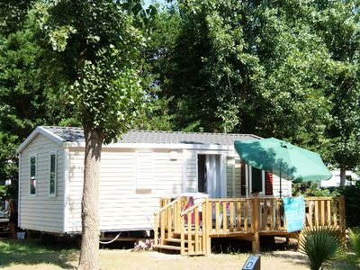 Camping Le Clos Virgile **** - mobile home 6 people - 6 places (between 0 and 5 years)