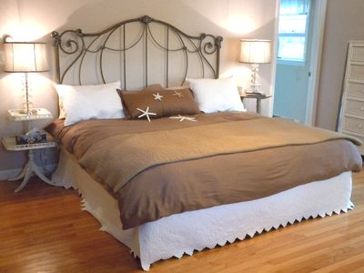 West Yarmouth house rental - Master King with private bath