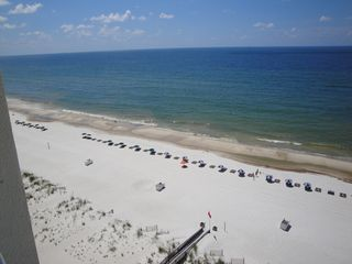 Gulf Shores condo photo - EASTERN VIEW FROM BALCONY