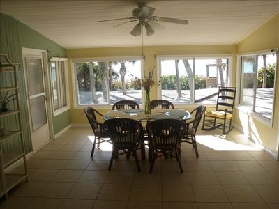 Dining Room - view of ocean