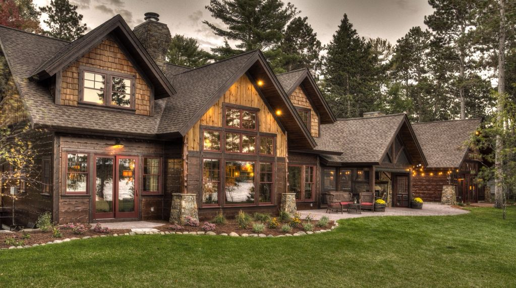 Luxury Cabin On The Whitefish Chain Vrbo