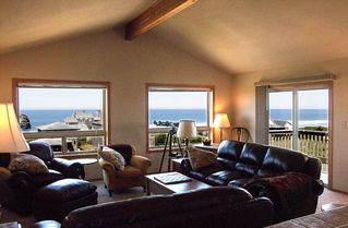 Bandon house photo - View from living room