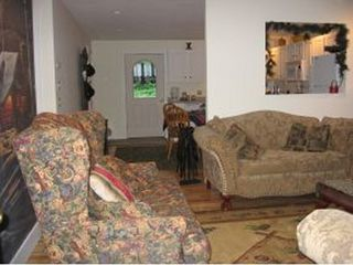 Ossipee Lake house photo - Living Room to Kitchen