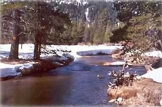 ... upper Truckee River, lot boundary. 250 feet river frontage