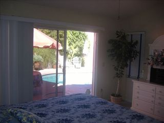 Chandler house photo - Looking out to the Pool from the Master Bedroom (g
