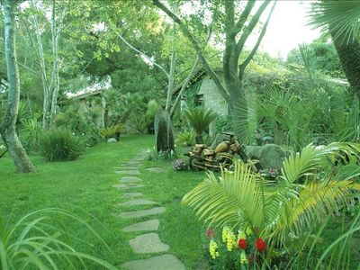 PATH TO COTTAGE & PARADISE