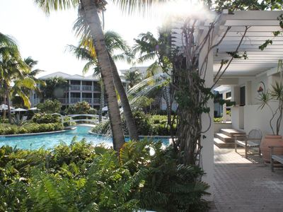 Providenciales - Provo condo rental - Waterfall view