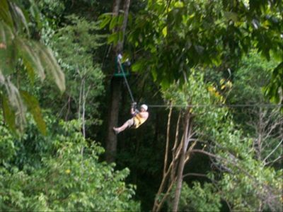 The canopy zipline tour is an experience of a lifetime!