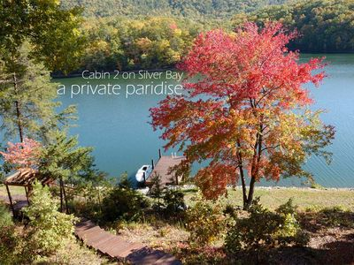 Huddleston cabin rental - View of Lake and Mountain