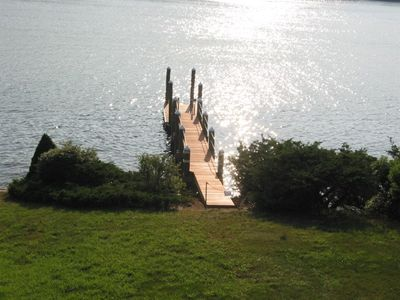 New Mahogany dock, across from nature preserve