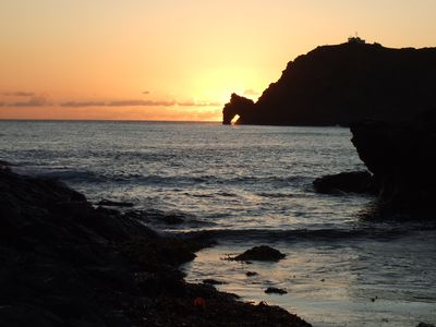 Sunset at Prawle Point