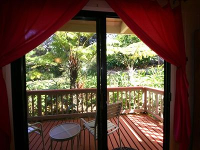 View from our Hibiscus Room in the Hale Nui Main House.