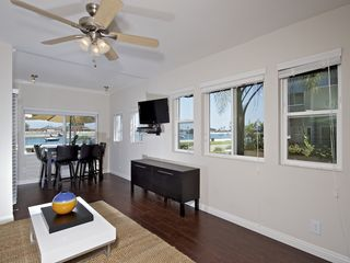 Mission Beach condo photo - Wonderful bay views from dining room
