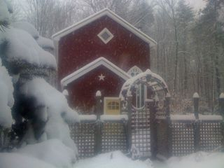 Woodstock cottage photo - The Haven in deep winter.