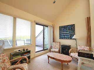 Hyannis - Hyannisport condo photo - Den outside outdoor deck