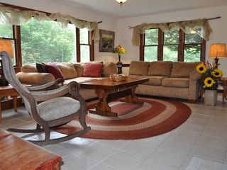 Free Wi-Fi, large living area on first floor - Bar Harbor cottage vacation rental photo