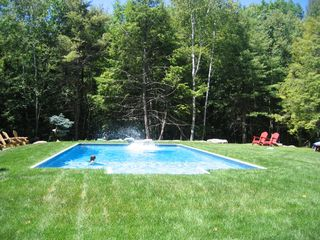 Windham estate photo - Heated Pool ,w/ 12 chairs,6 chaises, 3 umbrellas,