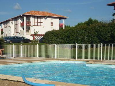 T3 NEW APARTMENT FOR RENT near sea ST JEAN DE LUZ with pool