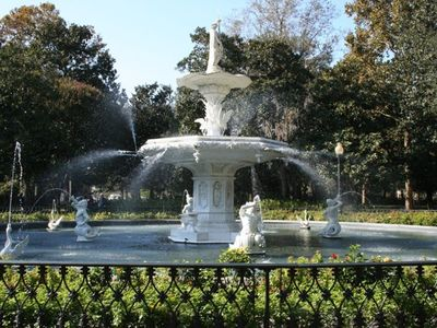Nearby Forsyth Park