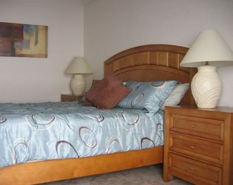 Master Bedroom - newly refurbished April 2007