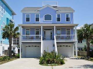 Carolina Beach house photo - Roof Deck, Garage, Single-Family Home (no condo no duplex no hassle) 2012 Photo