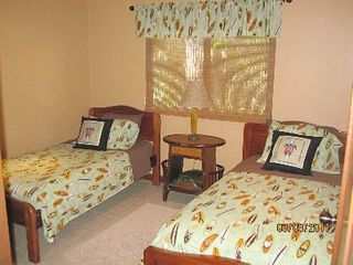 Playa Hermosa house photo - Surf Theme bedroom with twin beds...