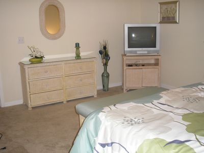 Cape Coral condo rental - master bedroom