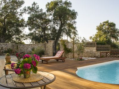 Charming Stone House with swimming pool and sea view  MHTE 0829K123K0283701