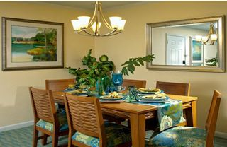Lake Buena Vista apartment photo - Dining area at Blue Tree Resort
