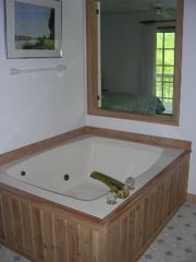 Duck house photo - Jacuzzi in master bedroom 1