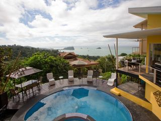 Manuel Antonio villa photo - Greets you every morning . . . stays with you all day