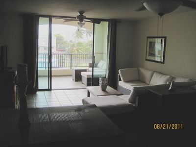 Living Room and Balcony