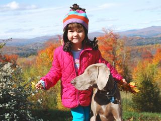 Burke chalet photo - Fall Foliage photo with Ava & Sage