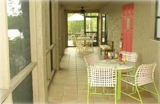 Old Naples apartment photo - Porch and entrance into rental
