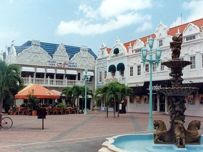 Shopping in Oranjestad (Orange Town) Aruba