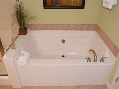 Master Bath with Garden Tub