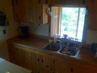 Lubec house photo - kitchen view