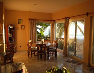 Bucerias villa photo - Late afternoon view from Living Room