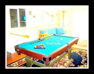 Twain Harte cabin photo - Pool table, Ping Pong, Horseshoes, Badmitten, etc, 20+ board games Play station