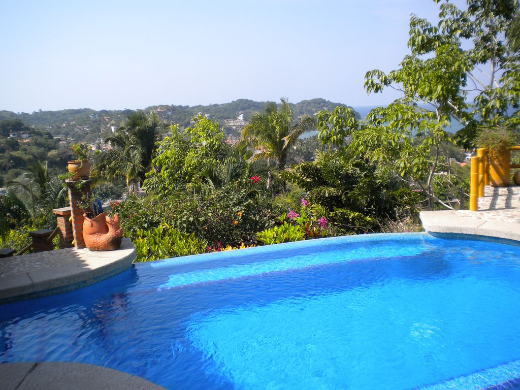 Large sayulita villa with incredible views vrbo for Villas sayulita