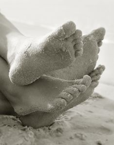 Come put your toes in the sand!