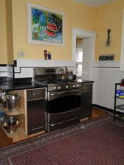 Boston villa photo - Stainless Kitchen with two adjacent pantries