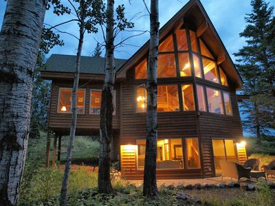 Lutsen chalet rental - Nature in all its glory right outside your door!