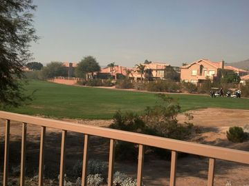 Golf views from back yard!