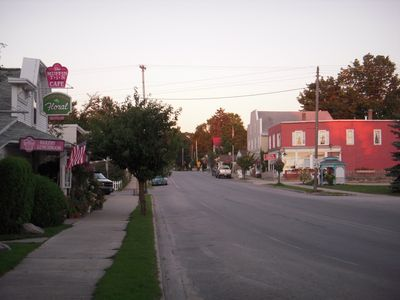 Downtown Alden-the definition of quaint and friendly, w/ good shopping & eating.