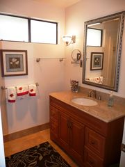 San Clemente condo photo - Master bath with New glass shower