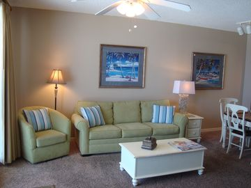 Orange Beach condo rental - Cool colors with beach accents will surround you!