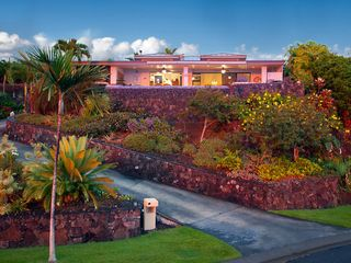 Kailua Kona house photo - Hale Hina ~ glowing from another perfect sunset.